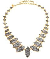 Shana Gulati Jodhpur Sliced Raw Diamond & 18K Yellow Gold Vermeil Necklace