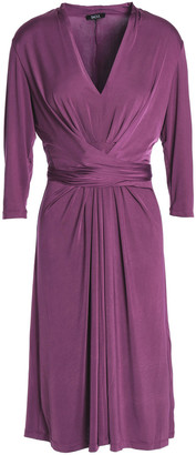 Raoul Tie-front Stretch-jersey Dress
