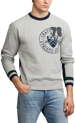 Chaps Big & Tall Athletic Division Fleece Crewneck Pullover