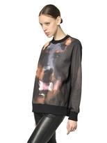Givenchy Printed Cotton Fleece Sweatshirt