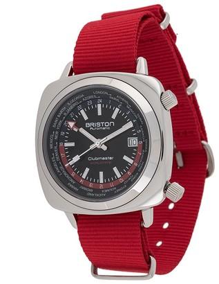 Briston Watches Clubmaster Worldtime 42mm watch