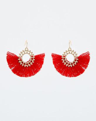 Le Château Tassel Earrings
