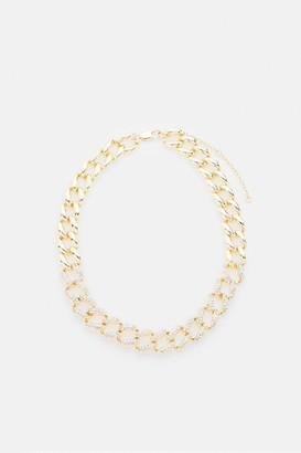 Coast Diamante Embellished Chunky Chain Necklace