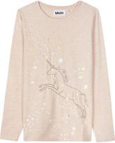 Molo Rennie unicorn print top 4-12 years