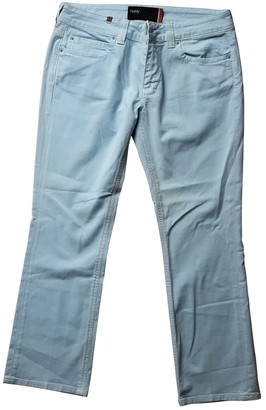 Notify Jeans Blue Cotton - elasthane Jeans for Women