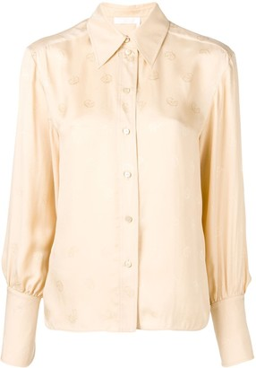 Chloé Embroidered Shirt