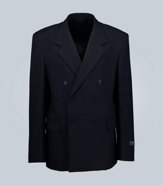 Balenciaga Archetype double-breasted jacket