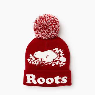 Roots Cooper Beaver Pom Pom Toque