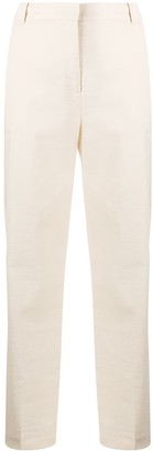 Pinko Straight-Leg Cropped Trousers