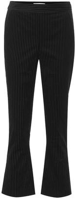 Frame Slit cropped corduroy pants