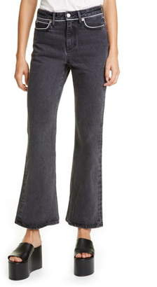 Simon Miller Piping Crop Flare Jeans