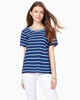 Charming charlie Castaway Striped Tee