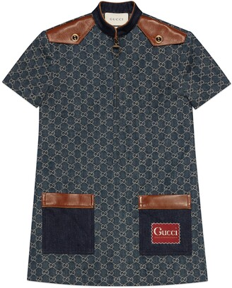 Gucci Eco washed organic denim dress