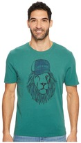 Life is Good Lion Smooth Tee Men's Short Sleeve Pullover