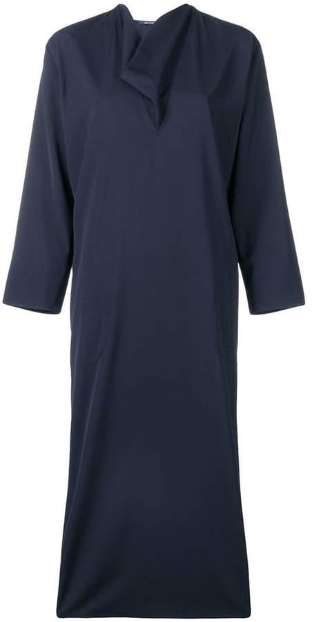 Sofie D'hoore cowl neck shift dress