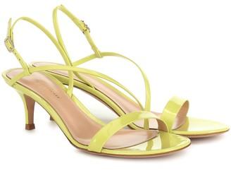 Gianvito Rossi Manhattan 55 leather sandals
