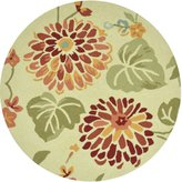 Loloi Rugs SUMRSSC07MA00300R Summerton Collection 100-Percent Polyester Round Area Rug