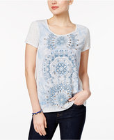 Style&Co. Style & Co Petite Graphic T-Shirt, Only at Macy's