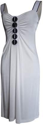 Philosophy di Alberta Ferretti White Synthetic Dresses