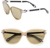 Givenchy 57MM Colorblock Cat's Eye Sunglasses