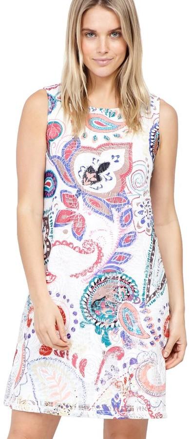 M&Co Izabel eastern print shift dress