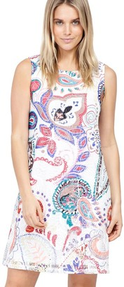 M&Co Izabel eastern print shift dress