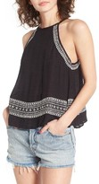 Rip Curl Women's Far Out Embroidered Top