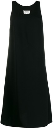 Maison Margiela sleeveless single-pleat dress
