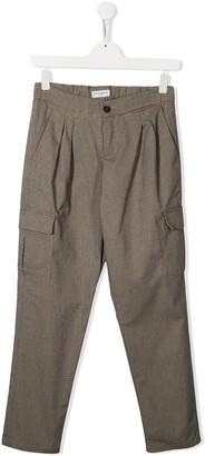 Paolo Pecora Kids pleated waist trousers