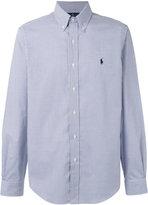 Polo Ralph Lauren checked logo shirt - men - Cotton - S