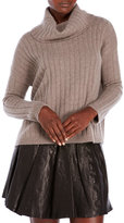 ply cashmere Cowl Neck Cashmere Sweater