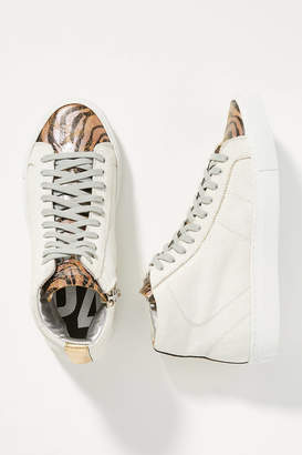 P448 Tiger High-Top Sneakers