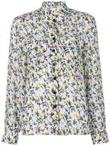 Chloé high neck floral print shirt