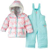 Carter's Baby Girl Print Puffer Jacket & Snow Pants Set