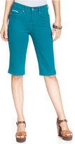 Levi's Petite Jeans, 512 Colored Denim Skimmers