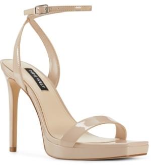 Nine West Women's Zadie Ankle Strap Sandals Women's Shoes