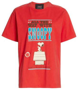 Marc Jacobs Peanuts x The Snoopy Sits Graphic T-Shirt