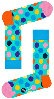 Happy Socks Big Dot Crew Sock