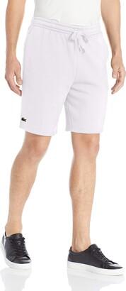 Lacoste Mens Sport Fleece Short Shirt