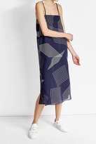 DKNY Printed Maxi Dress