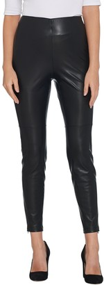 Lisa Rinna Collection Faux Leather Leggings