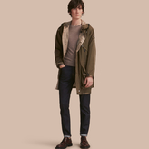 Burberry Reversible Hooded Packaway Technical Parka