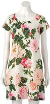 Ronni Nicole Women's Floral Lace Swing Dress