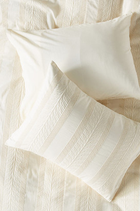 Anthropologie Embroidered Cantrelle Shams, Set of 2 By in White Size S2 qn sham