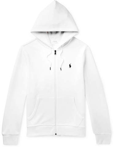 4aa68434a Polo White Hoodie Men - ShopStyle