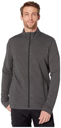 Smartwool Merino Sport Fleece Full Zip Jacket (Charcoal Heather) Men's Coat