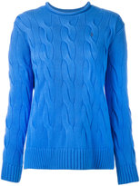 Polo Ralph Lauren knitted sweater - women - Cotton - XS