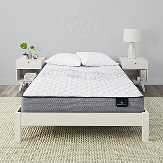 "Serta Perfect Sleeper 11"" Elkins II Plush Innerspring Mattress and Box Spring Mattress Size: Full, Box Spring Height: Low Profile (5"")"
