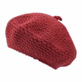 Wtouhe Fashion Women's Beanie with Pom 2020 Hots Winter Joules Sale Comfy Cute Soft Casual Trendy Collar Plus Thick Knit Warm Curling Baseball Ball Cap Hats Oversized Crochet Beanie Hat Ski Cap