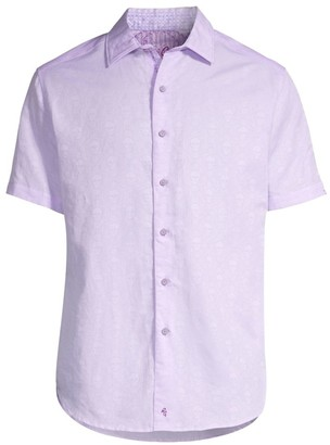 Robert Graham Classic-Fit Temple Of Skull Short-Sleeve Shirt